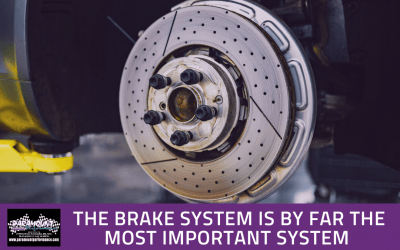 The brake system is by far the most important system